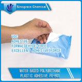 Adhésif en plastique de polyuréthane à base d'eau (PU-801)