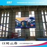140&degの表示を広告する高い明るさP6.25屋内大きい固定LED TV; 視野角