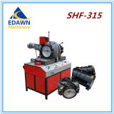 Shr-250 모형 유압 개머리판쇠 융해 기계 HDPE 관 용접 기계