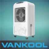 Вентилятор испарительного воздушного охладителя стоящий с контейнером воды