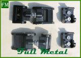 Preto de alumínio preto do jogo do prendedor da capa do motor para o Wrangler do jipe
