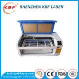 80W 6040 de Scherpe Machine van de Laser van Co2 voor het Houten Leer van het Document Acryl