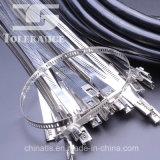 Тип связи трапа поставкы Китая кабеля нержавеющей стали
