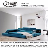 Кровать софы неподдельной кожи типа Кореи самомоднейшая для живущий мебели комнаты - Fb8001