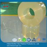 Rouleaux de porte à rideaux en PVC doux souples et transparents flexibles et transparents