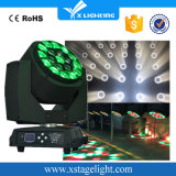 Roating 19X15W LED Bienen-Augen, die Hauptsummen-Wäsche-Licht verschieben