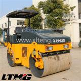 Ltma 6 Tonnen-hydraulische doppelte Trommel-Vibrationsstraßen-Rolle