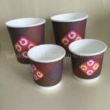 Heißer doppel-wandiger Kaffee-Papiercup (YHC-119)