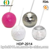 [20وز] [هوت-سل] بلاستيكيّة يشرب كرة تبن فنجان, [ببا] مجّانا بلاستيكيّة ديسكو كرة شكل فنجان لأنّ ترقية ([هدب-2014])