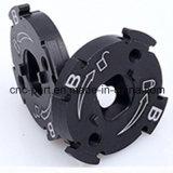 CNC точности подвергая алюминиевые и пластичные части механической обработке для камеры