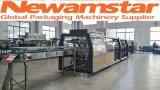 Máquina Shrinking da membrana de alta velocidade de Newamstar para frascos, latas