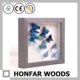 Cadre de tableau de cadre d'ombre de guindineau pour le décor à la maison