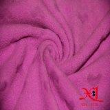 Anti-Pilled tissu d'ouatine molle de polyester pour le textile/vêtement