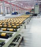 Cadena de producción de la losa de la piedra del cuarzo y máquina superficiales sólidas de la prensa