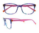 Het recentste Frame van het Oogglas van de Manier van het Frame van de Acetaat van de Ontwerper van Eyewear Italië van het Ontwerp Optische