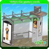Disegno costante del riparo del Riparo-Bus della fermata dell'autobus del metallo della struttura