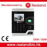 Controle de acesso biométrico da impressão digital da tela da cor de Realand TFT LCD