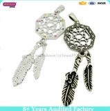 2017 Dream Catcher Pendent Net com Plumas Wall Car Hanging Decoração Ornamento Craft Gift