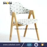 다방 호텔 대중음식점 룸 가구 나무로 되는 여가 팔 의자 단단한 나무 Sbe-Cy03314
