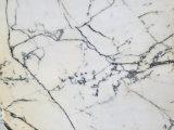 Lastra Polished naturale del marmo di bianco cinese di prezzi di fabbrica