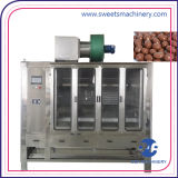 Machine d'enduit de chocolat en acier inoxydable réglable automatique pour Chocolate Bean / Melon / Noix de fruits / sec