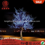 Changement de couleur Noël 6W 7.5m 3.5m LED Feuilles Cherry Plam Tree Light for Decoration Light