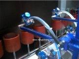 Línea de capa ULTRAVIOLETA automática Arma-Fija de llavero del barniz