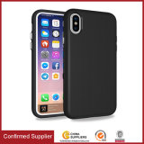 Venda por atacado combinado para a tampa Shockproof 2 do caso do iPhone 8 em 1 TPU com caixa do PC, caixa híbrida luxuosa do telefone para o iPhone 8