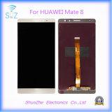 Tela de toque LCD do telefone móvel do companheiro 8 para o indicador de Huawei Displayer