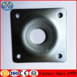 Estampage de la plaque carrée de dessus de plaque d'accessoires de support d'acier de bâti