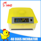 Ce merkte de Automatische Kleine Incubators van het Ei van de Kip voor Uitbroedende Eieren