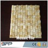 Mosaico de pedra natural do Travertine/o de mármore para a parede do banheiro, telhas de assoalho