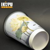 12 oz Doble pared de la copa PE forrado de papel taza de café