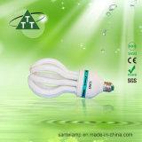 85W le lotus 3000h/6000h/8000h 2700k-7500k E27/B22 220-240V CFL évaluent vers le bas