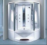 sauna do vapor de 1350mm com banheira e chuveiro (AT-G8202F)