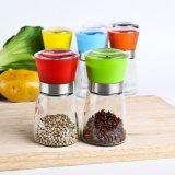 Vidro de cozinha vazio / moinhos de pimenta / moedor de especiarias / moinhos de especiarias
