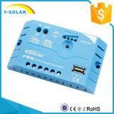 Регулятор 12V/24V Aotu обязанности Epever 20A PWM солнечный с поручать USB солнечный