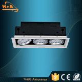 12wx2 luz principal de la parrilla de la eficacia alta dos LED