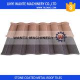 tuile de toit enduite en métal de puce en pierre de 0.4mm de tôle d'acier de Galvalume