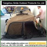 Da parte superior Geodesic do telhado da mola de 3 pessoas barraca automática de acampamento quadrada