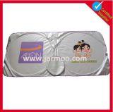 De kleurrijke Zilveren Met een laag bedekte Schaduw van de Zon van het Venster van de Auto van de Stof Voor