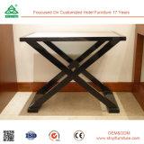 Einfache festes Holz-Rahmen-Gewebe-Oberseite-Gepäck-Zahnstange