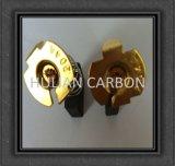 Heiße verkaufenKohlebürste des elektrischen Bohrgerät-CB-204/kleine funkende 7X18X18mm Energien-Hilfsmittel-Kohlebürste/kupferne Graphitkohlebürste