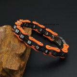 Jóia da corrente da camada dobro do homem do caráter da corrente do bracelete do aço inoxidável (BL2819)