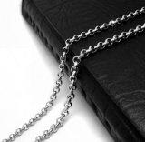 Collier à chaînes de langoustine 19.68 aciers inoxydables de pouce et 23.62 de pouce 316L
