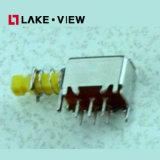 Interruptor CE RoHS actuador de alta No iluminado con pulsador