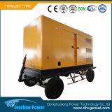 Tipo generatore stabilito di generazione diesel elettrico dell'automobile del Portable di Genset di potere