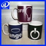 Personifizierte Foto-Kaffeetasse-Farbe, die magischen Becher ändert