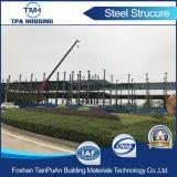 Edificio de acero prefabricado de Sturcture de 2 suelos para el taller