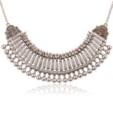 Joyería del collar del collar de la declaración de la aleación de la borla de la aleación de la manera